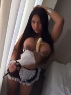 Beautiful escort model LATIN Nathaly Anal Sex: weight 57 kg, height 1 cm